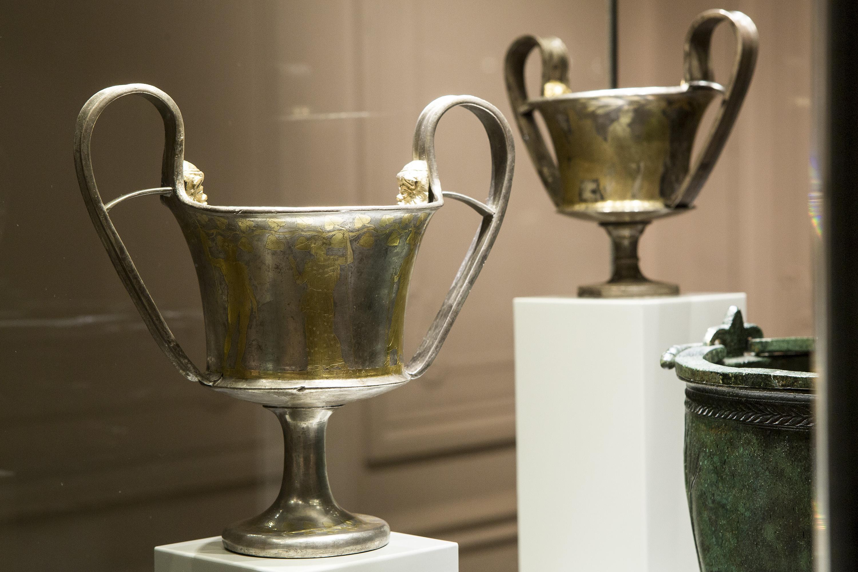 Silver artefacscollection