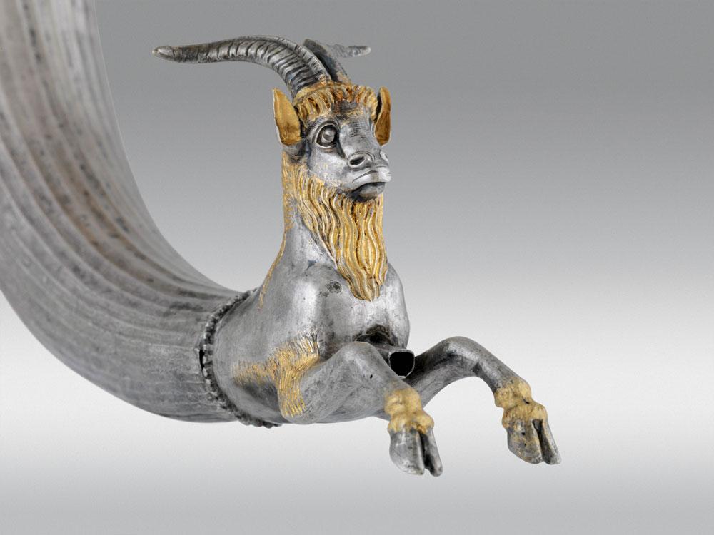 Goat Protome Rhyton