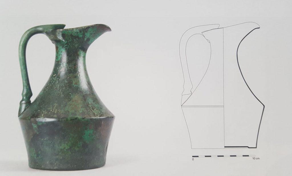 Bronze epichysis handle